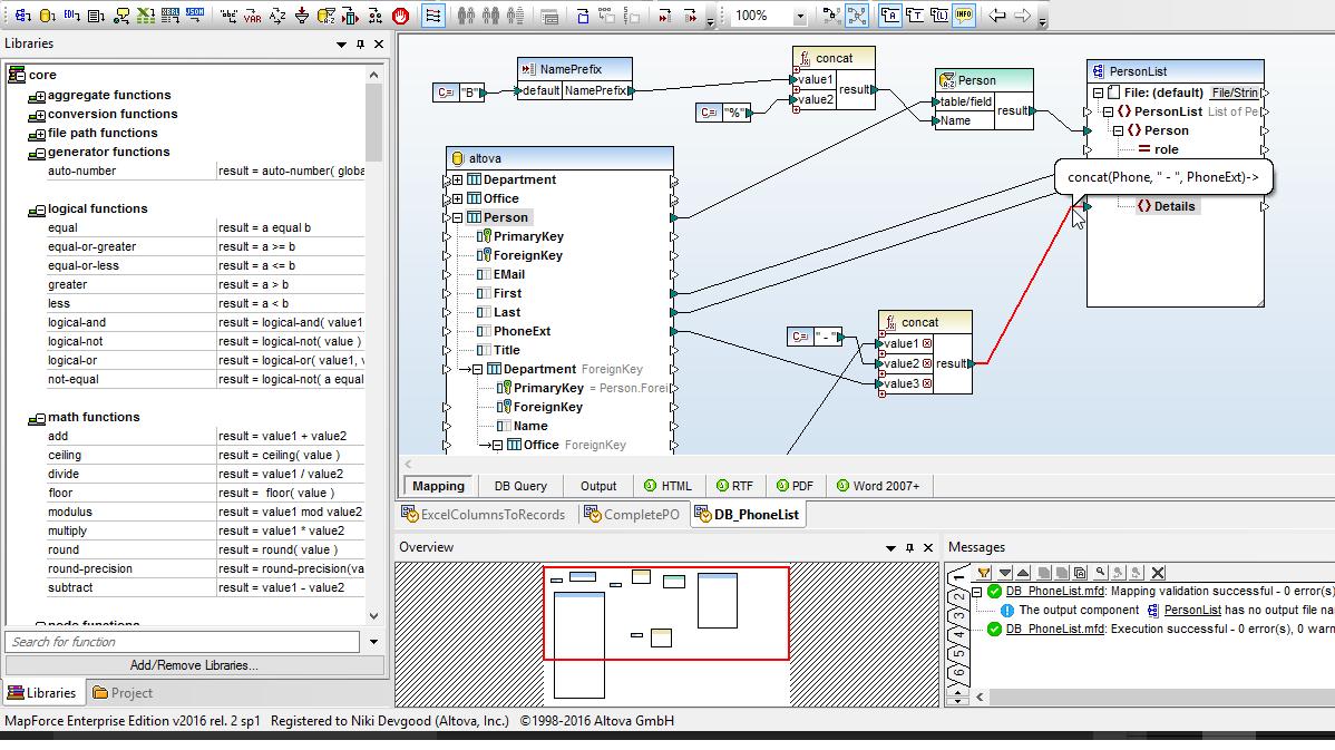 Xsd Tools | Altova pertaining to Er Diagram Xml