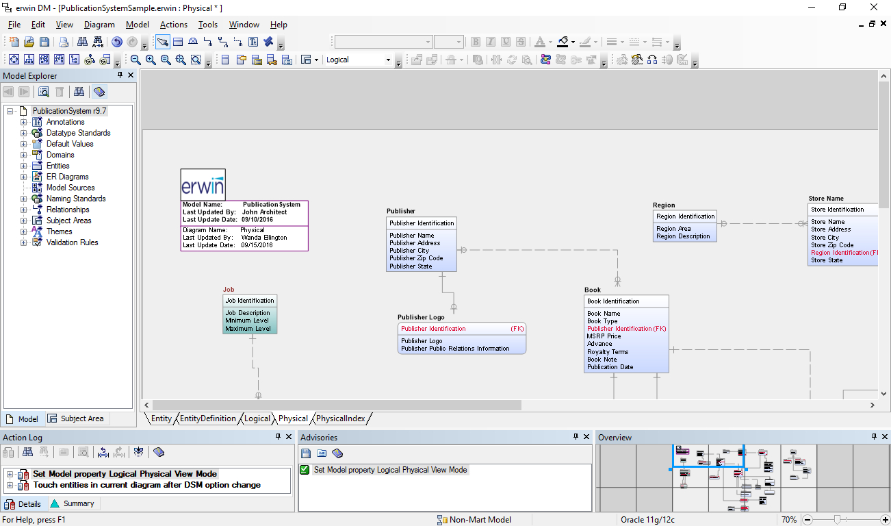16 Data Modeling Tools For Oracle - Dbms Tools in Logical Entity Relationship Diagram