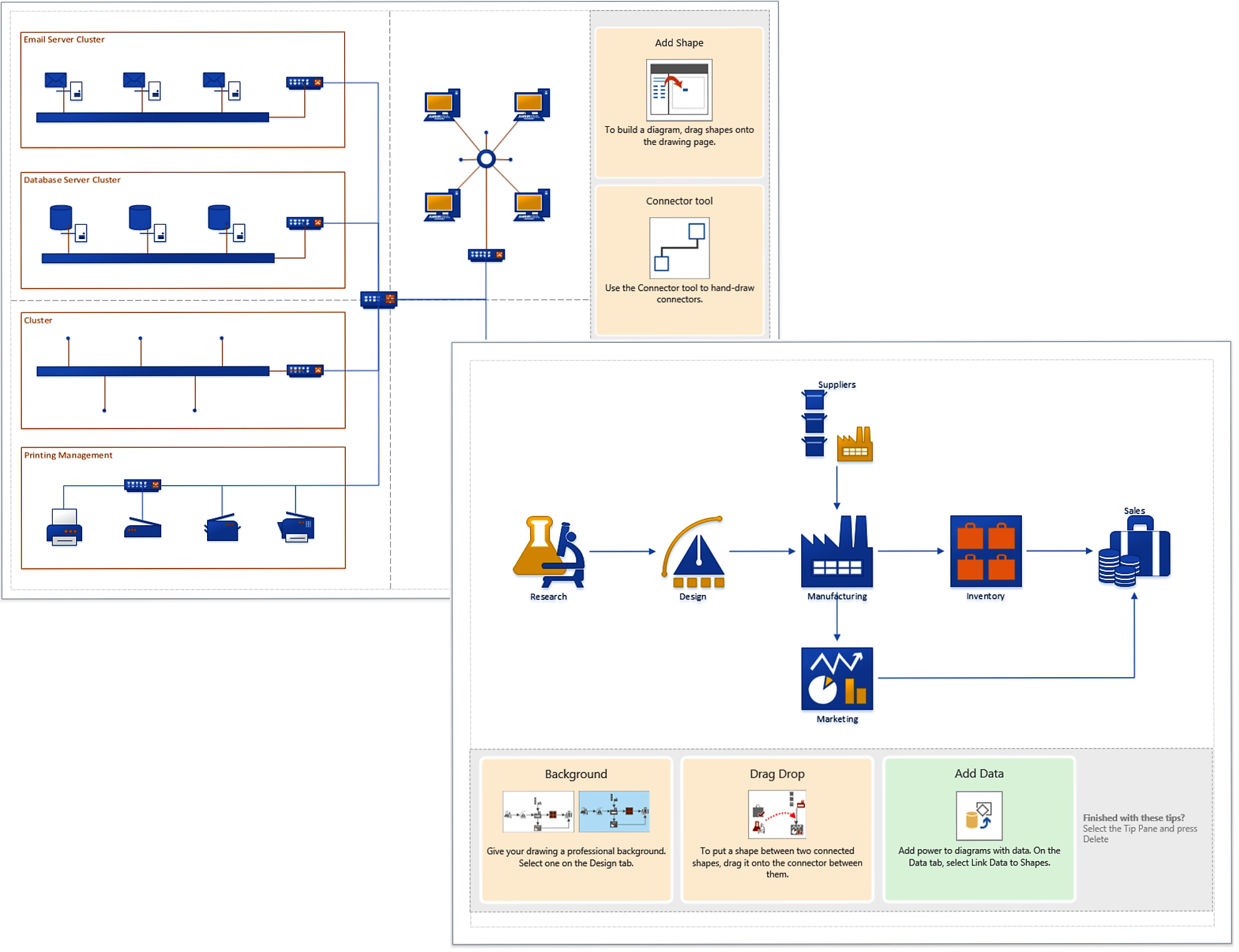 19 Automatic Visio 2013 Network Diagram Examples Download intended for Er Diagram Visio 2017