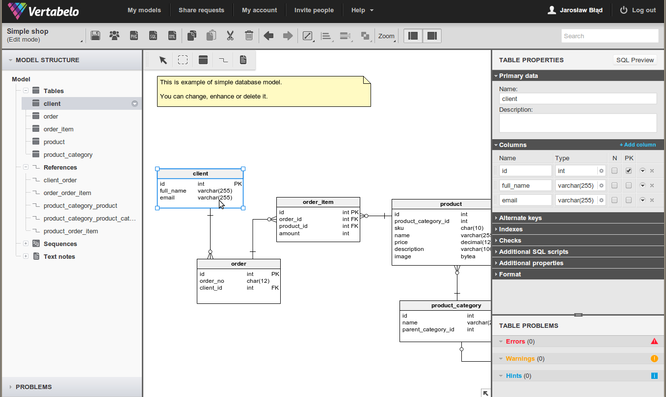 49 Database Diagram / Reverse Engineering Tools For throughout Draw Database Diagram Online