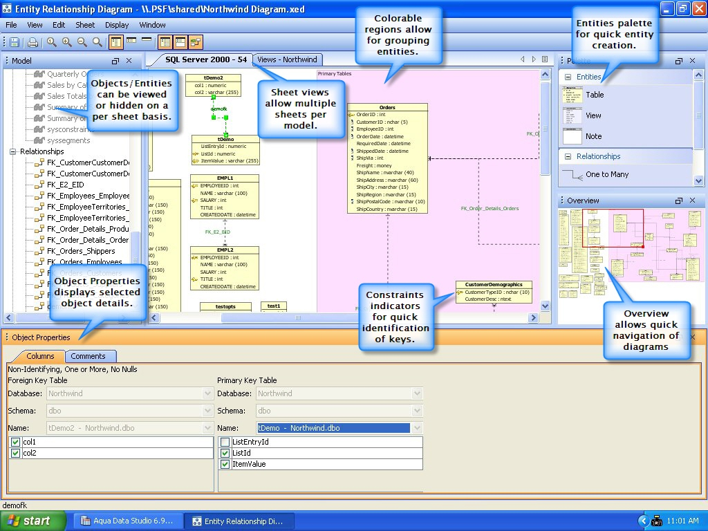 Aqua Data Studio 7 Includes An Er Modeler | Chapter31 within Er Modeler