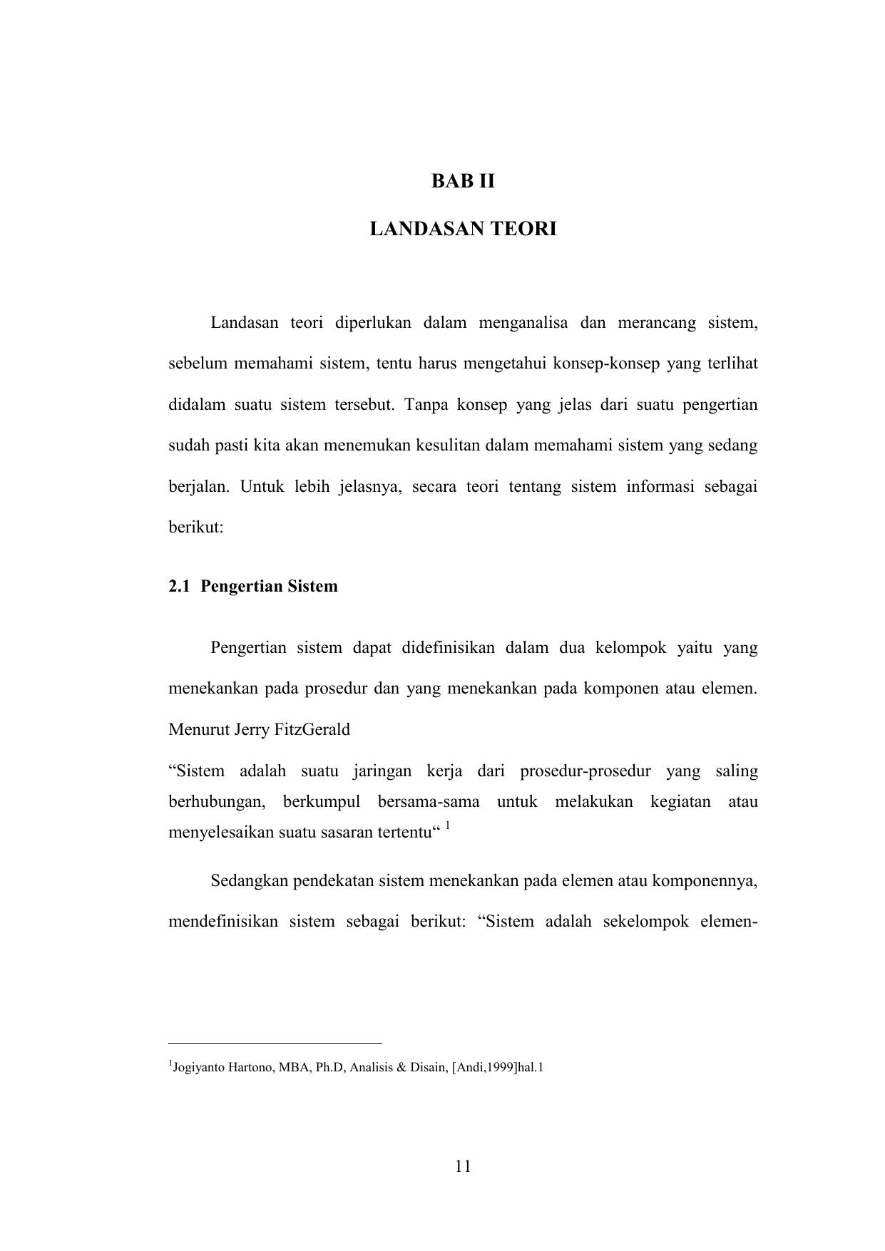 Bab Ii Landasan Teori within Simbol Er Diagram Yg Berbentuk Elips Adalah
