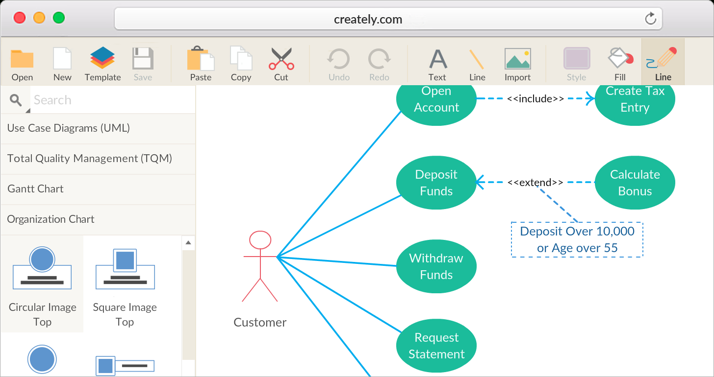 Business Diagram Software With Real-Time Collaboration pertaining to Er Diagram Creately