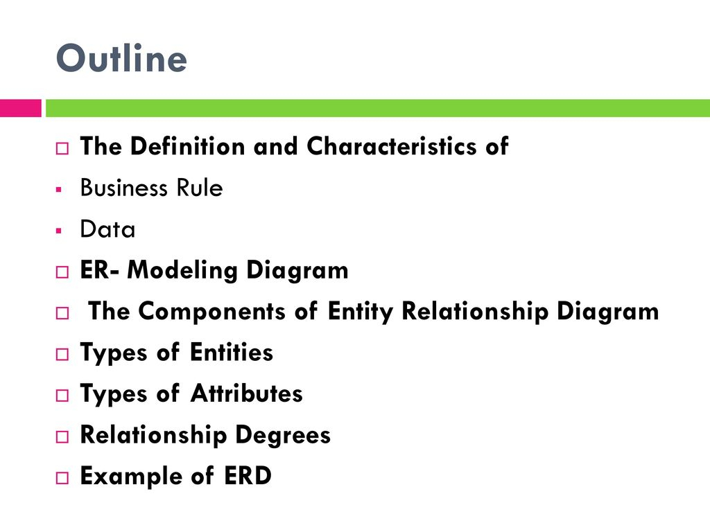 Chapter 3: Modeling Data In The Organization - Ppt Download within Erd Definition