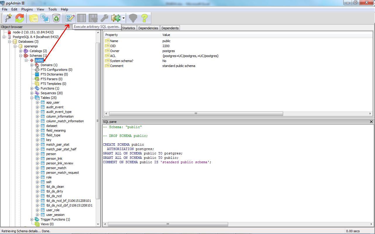 Creating Database Schema With Pgadmin Iii for Er Diagram Pgadmin 4