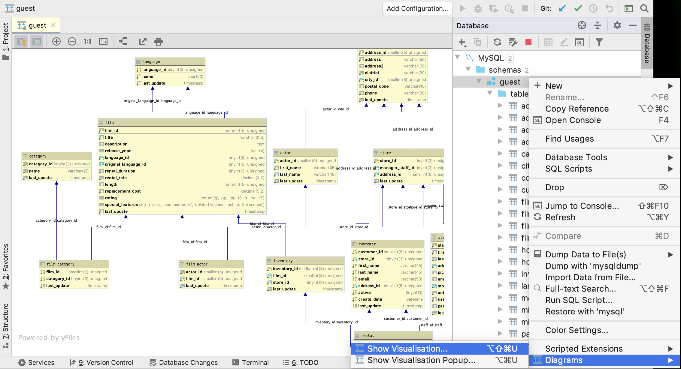 Creating Diagrams - Help | Intellij Idea regarding Er Diagram From Json