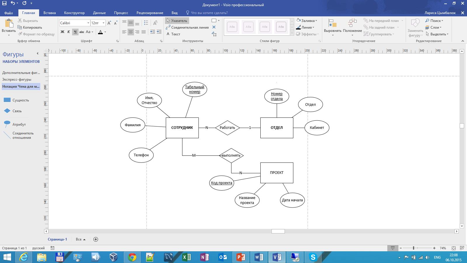 Методические Рекомендации По Практическим Работам На Тему in Er Diagram Access 2016