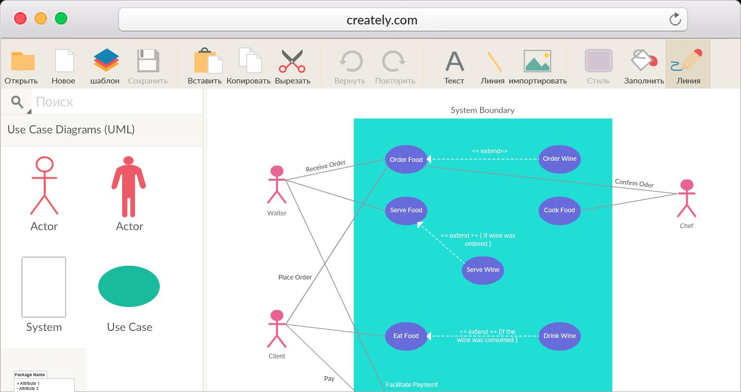 Создавать Диаграммы Uml Онлайн   Программное Обеспечение Uml with Er Diagram Creately