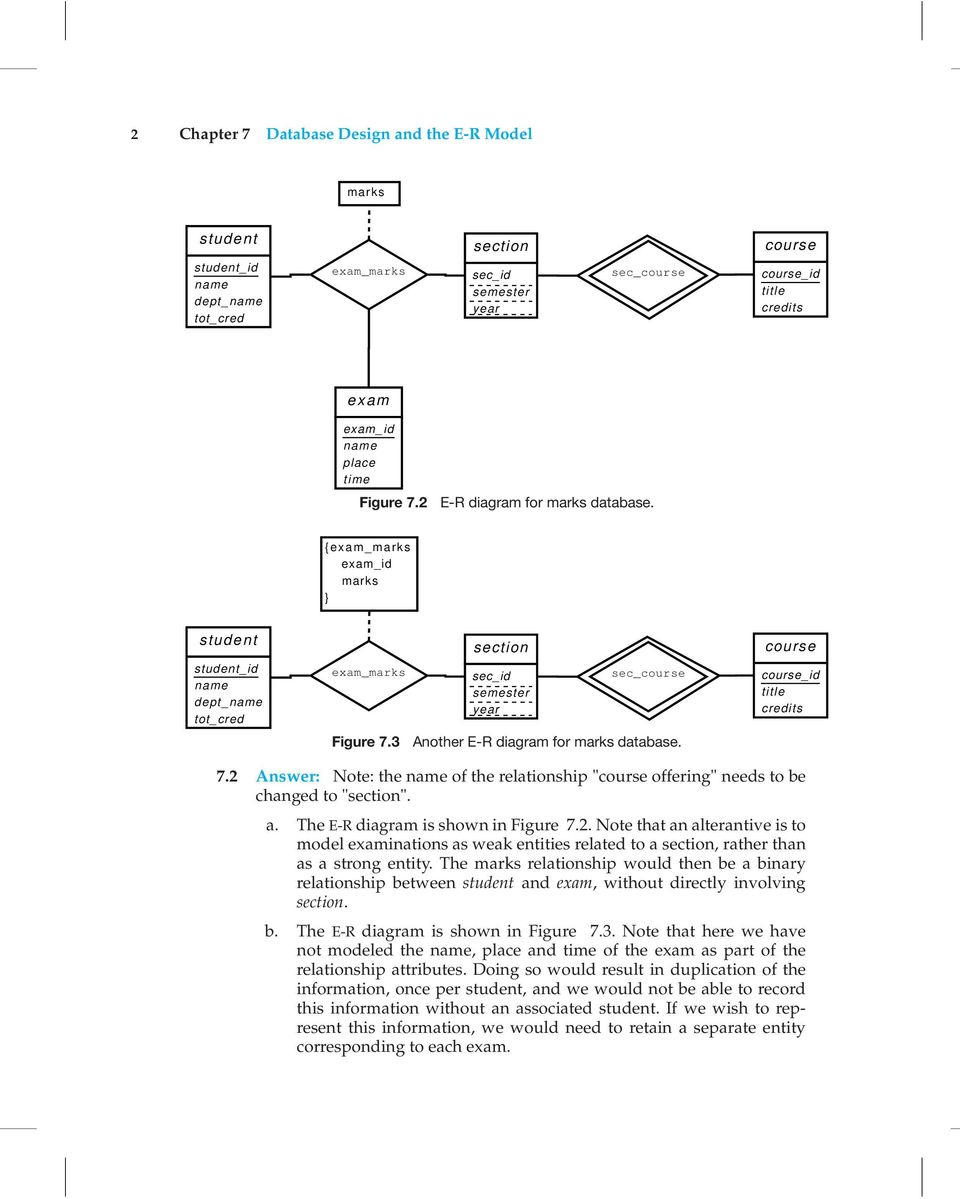 Database Design And The E-R Model - Pdf Free Download with regard to Er Diagram R