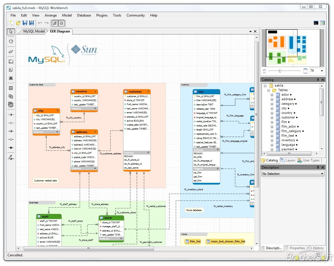 Database-Design: Высококачественный Генератор Erd Для with regard to Erd Design