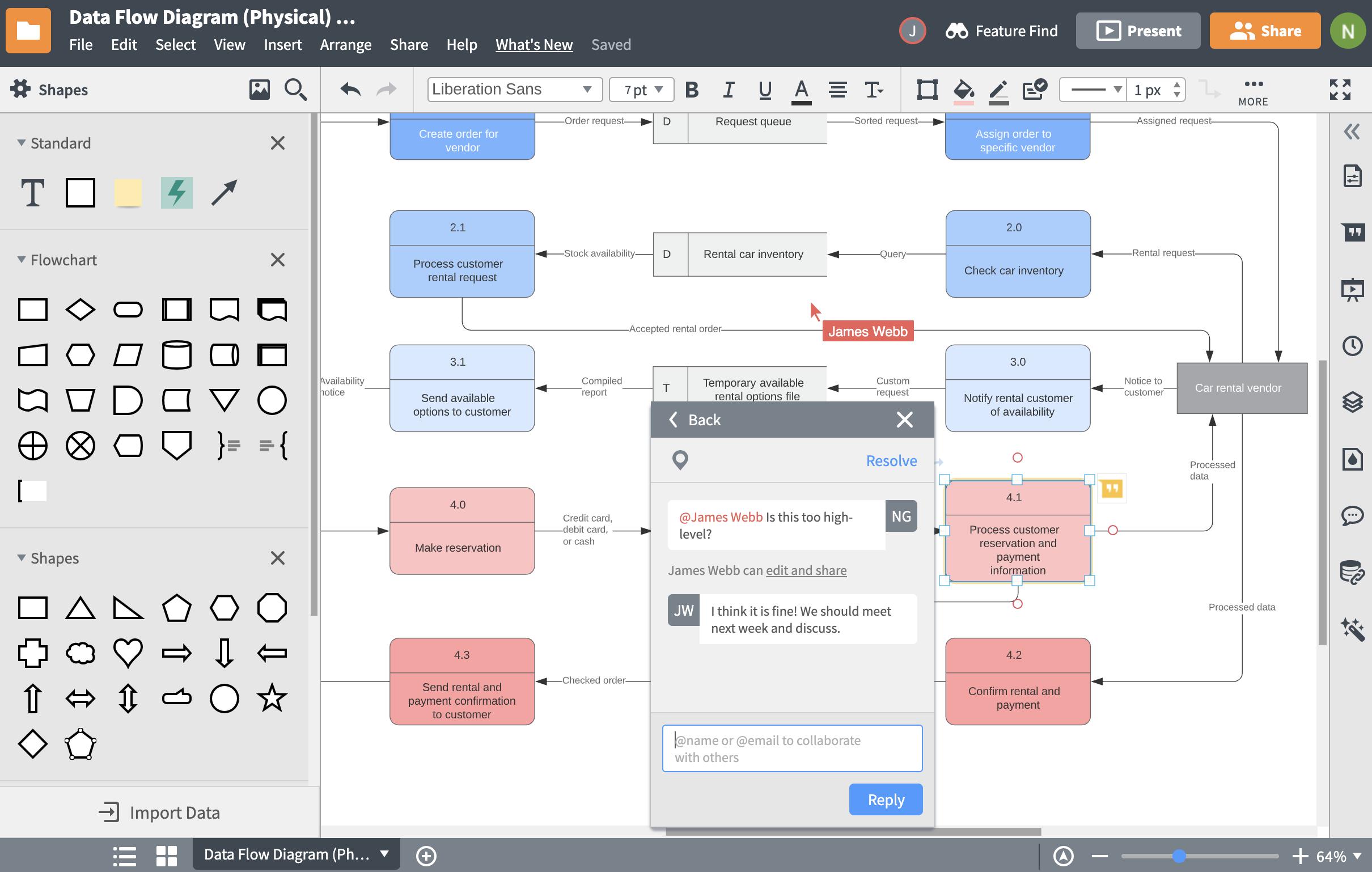 Database Design Tool   Lucidchart with Create Database Model Diagram
