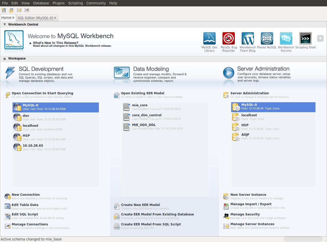 Database - Er Diagram Software - Ask Ubuntu within Er Diagram Linux