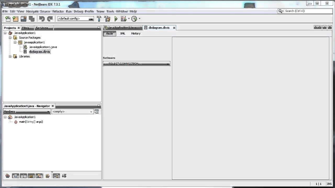 Database Er Diagram Viewer - Connection Netbeans Plugin throughout Er Diagram Java