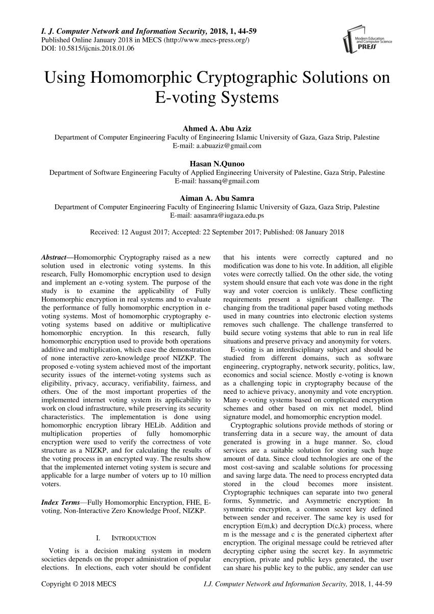 Entity Relationship Diagram Of Our E-Voting System for E Voting Er Diagram