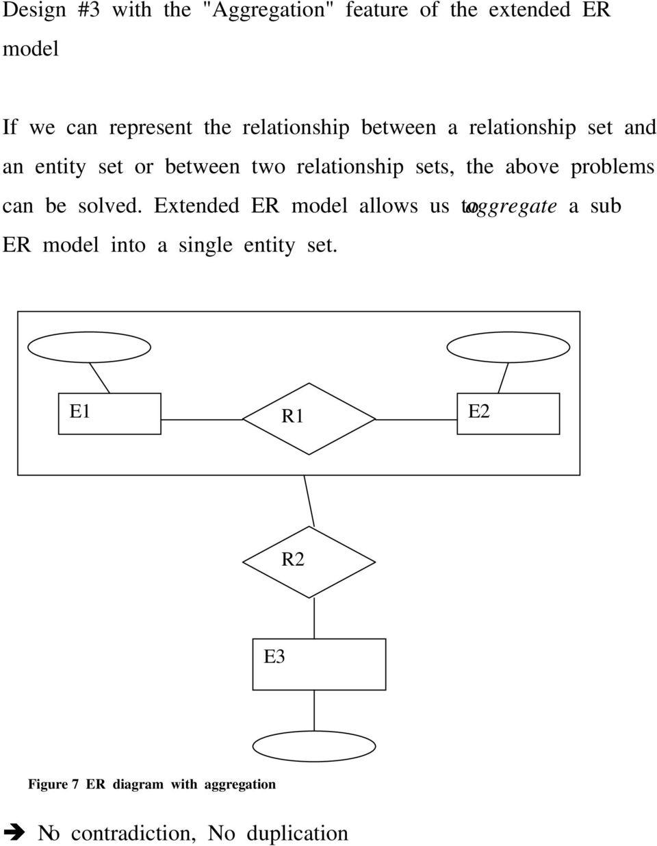 Entity-Relationship (Er) Model. 1. Background (Five Levels for Er Diagram Generalisation Is Represented By