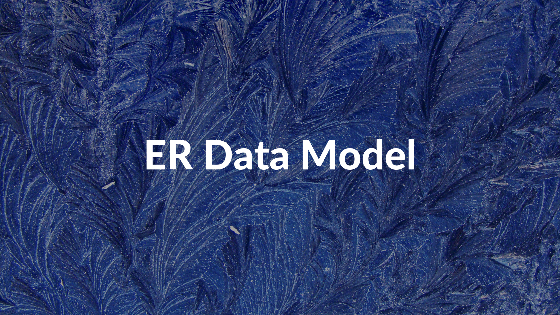 Er Data Model - Er Diagram Symbols - One-To-One Relation with 1) In Er Diagrams Rectangles Are Used To Denote