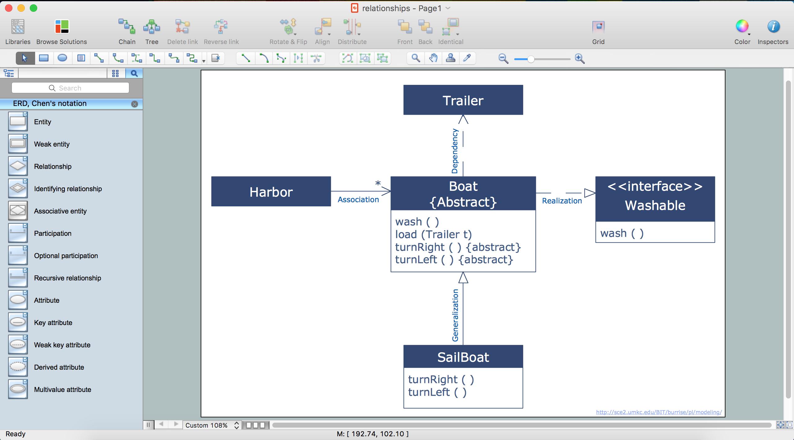 Er Diagram Tool Online Er Diagram Software Conceptdraw For Mac regarding Create Erd Diagram Online