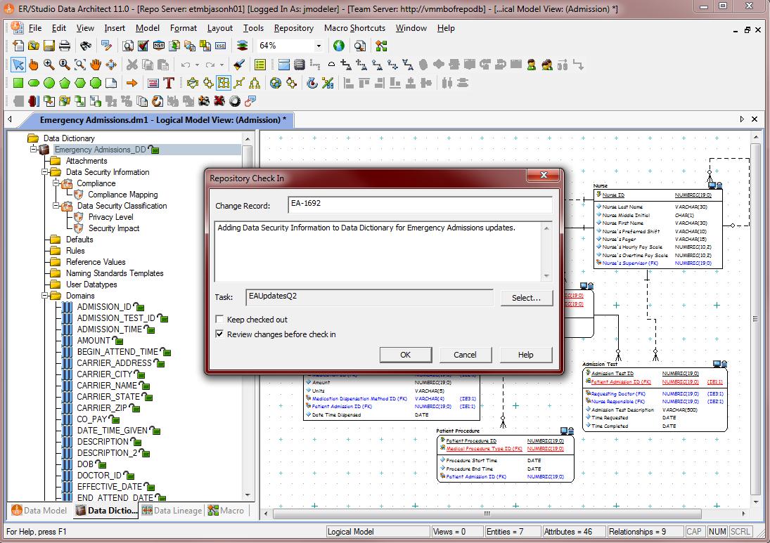 Er/studio - Screen Shots - Solutions - Embarcadero throughout Er Studio