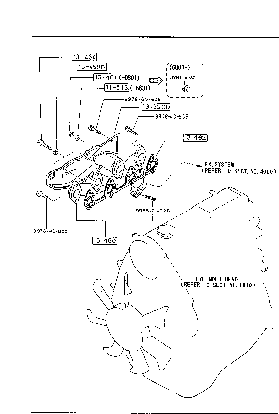 Europe, E2200 Sr 02/1988-, Diesel-Engine Supplement, 1310B with regard to Er Diagram 101