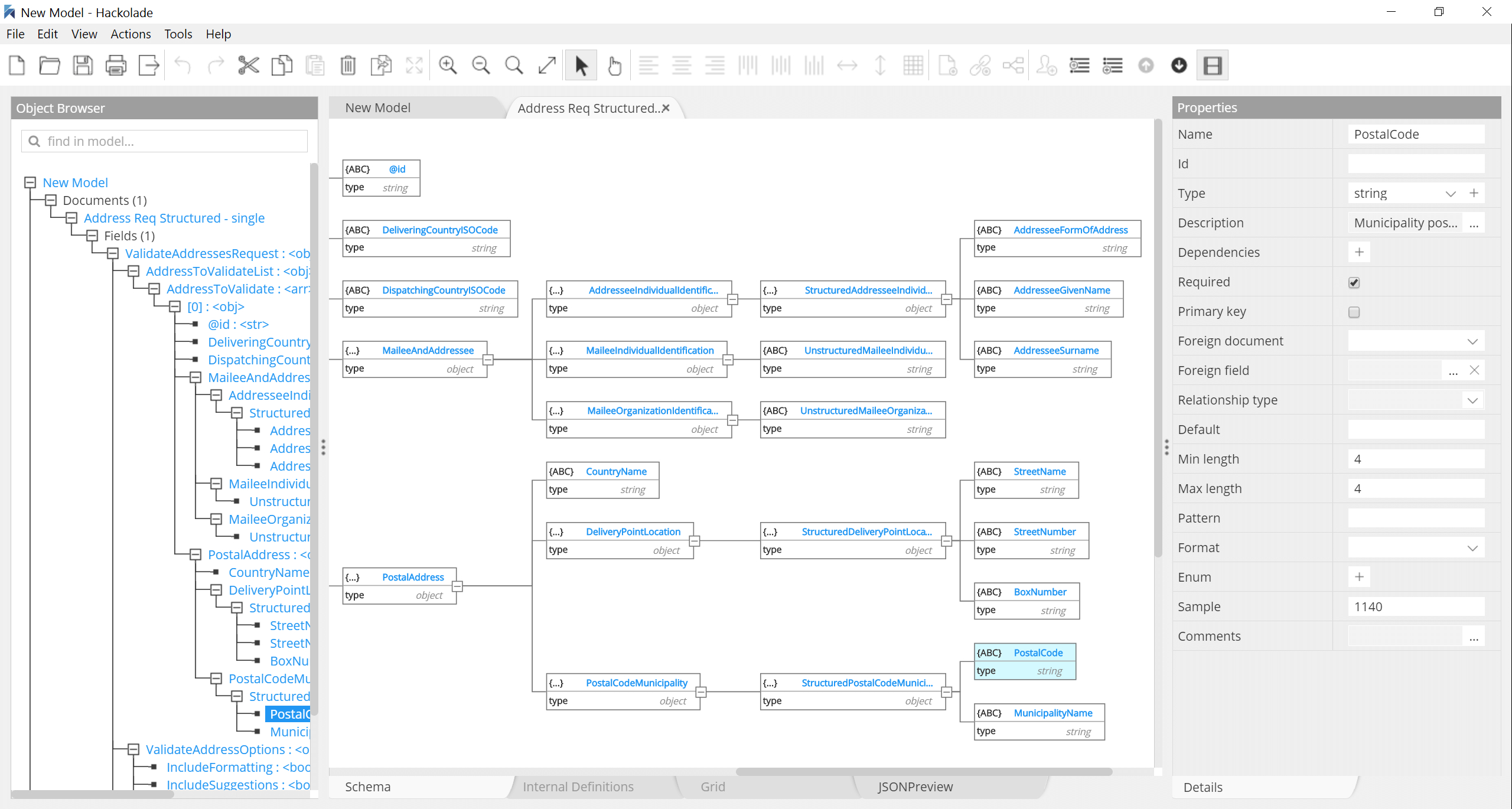 Features Nosql Databases Visual Modeling Tool & Swagger Rest throughout Er Diagram From Json