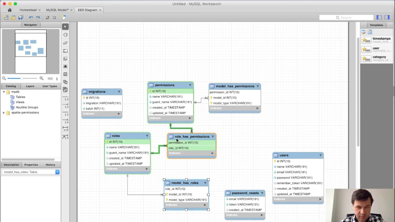 Generating Db Schema In 10 Seconds With Mysql Workbench with Database Table Relationship Diagram
