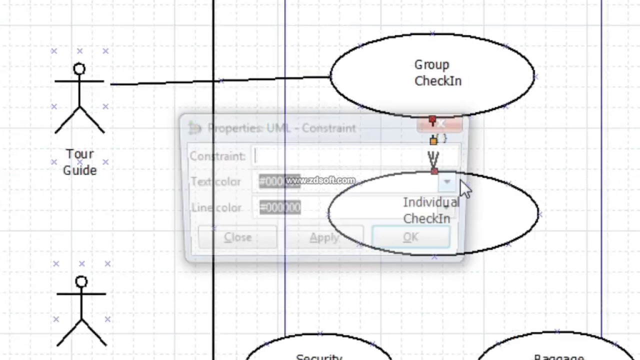 How Create Use Case Diagram Using Dia Application intended for Er Diagram Using Dia