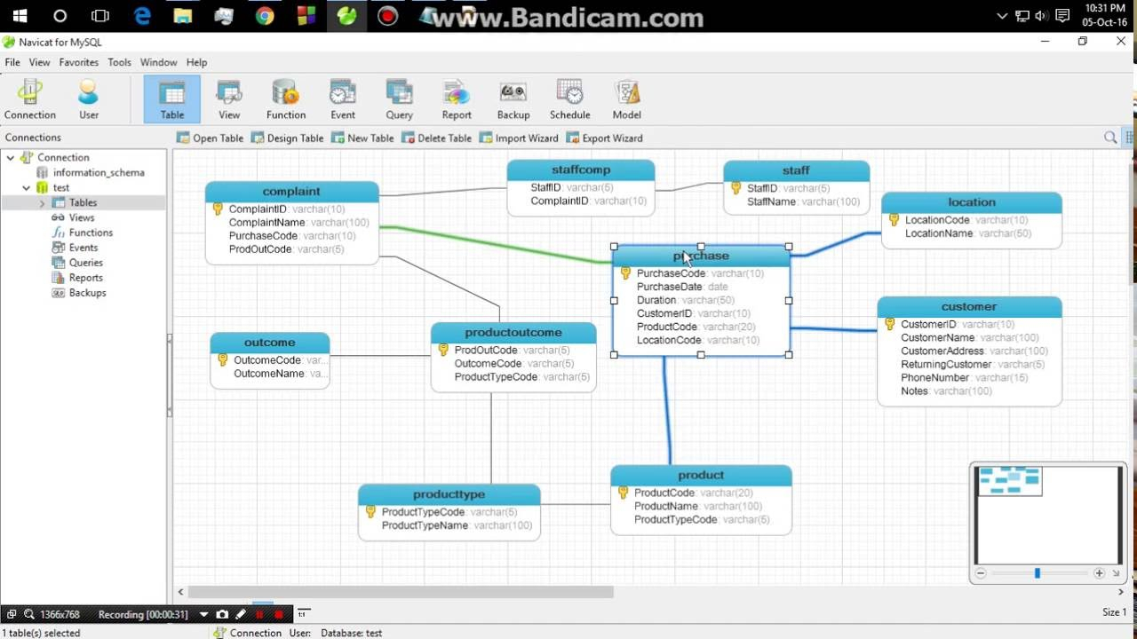 How To Auto Generate Erd From Navicat For Mysql within Er Diagram Generator From Database