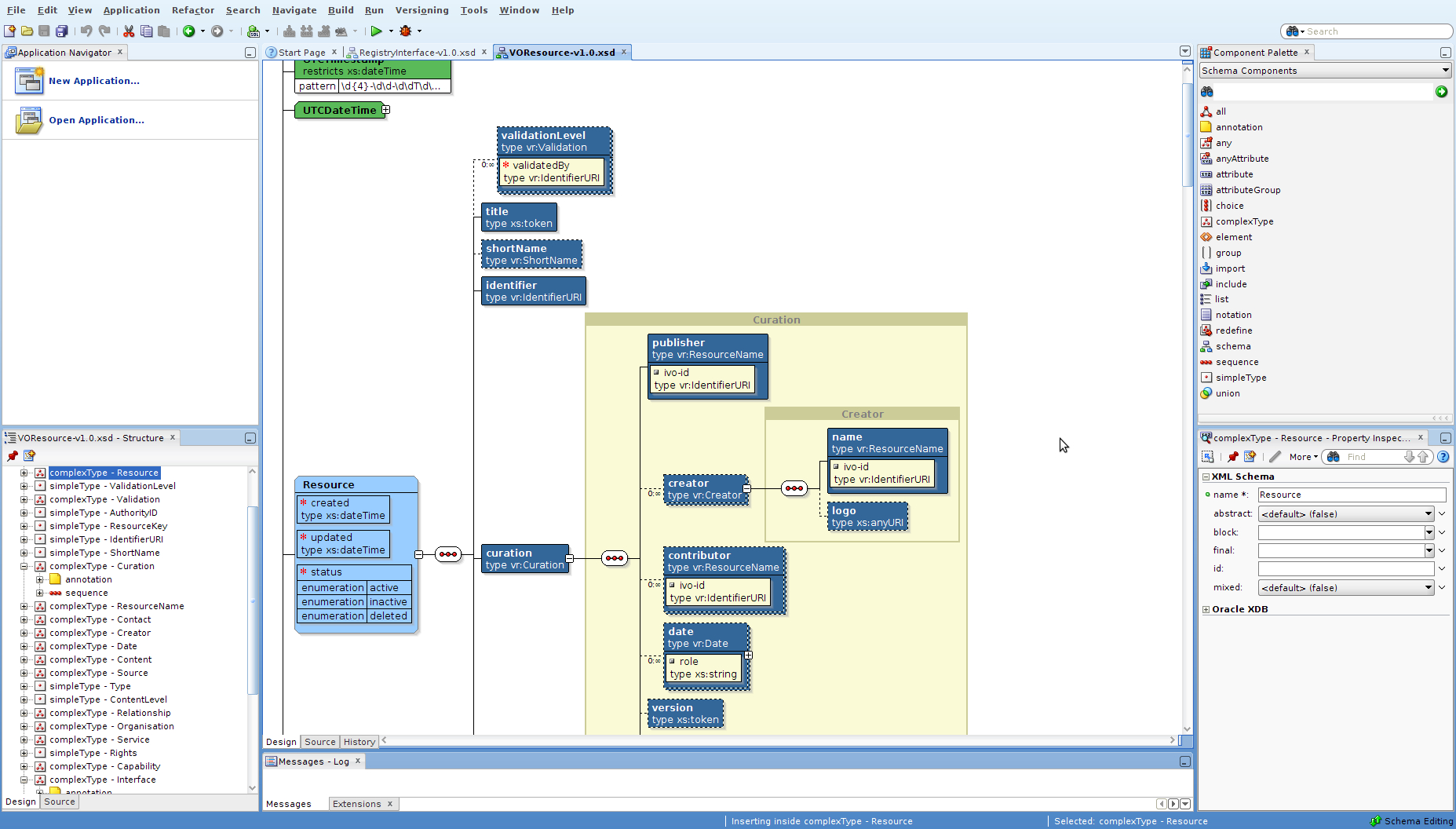 How To Visualize An Xml Schema? - Stack Overflow in Er Diagram From Xsd