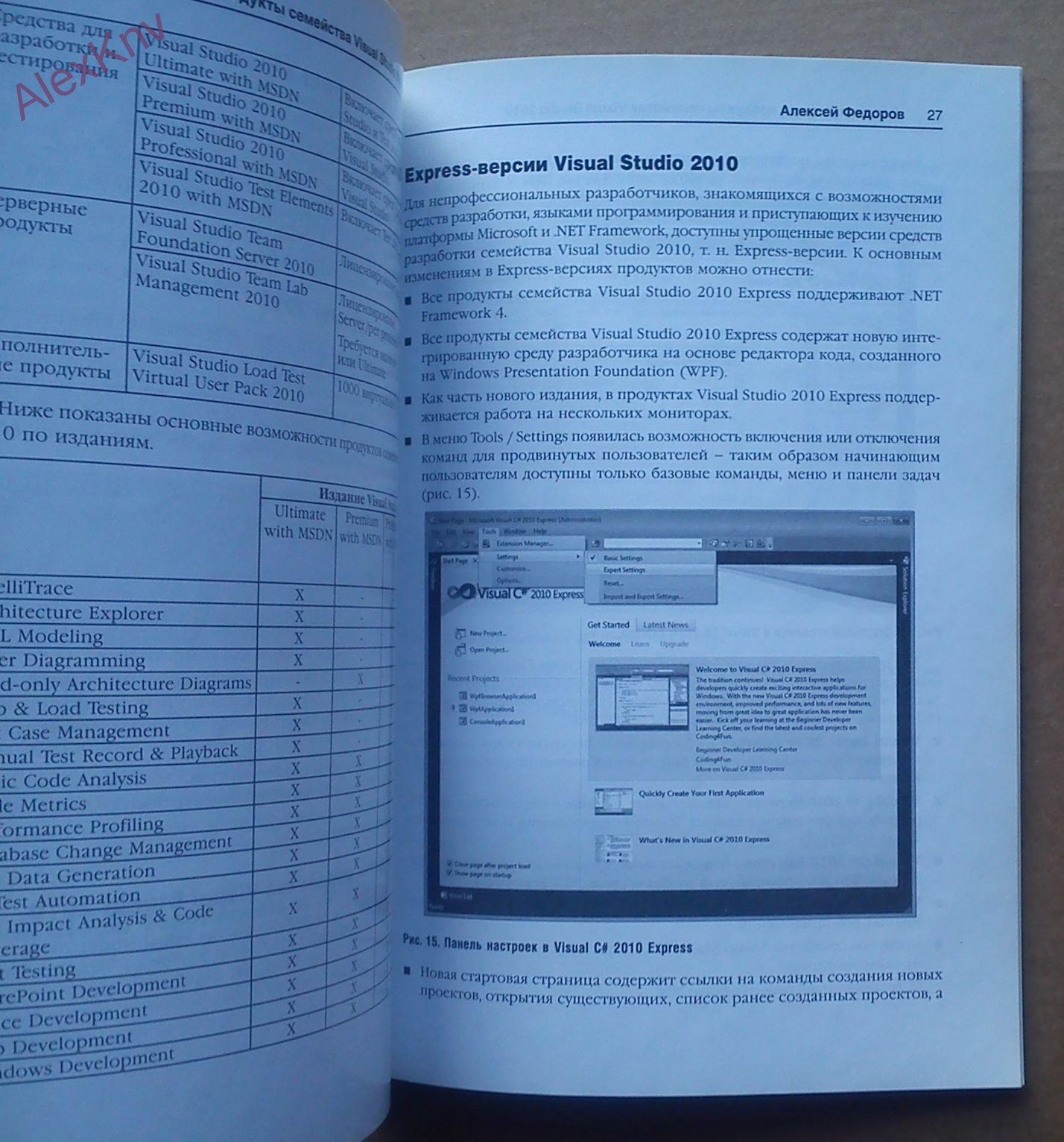 Microsoft Visual Studio 2010. Первое Знакомство. 2-Е Издание throughout Er Diagram In Visual Studio 2010