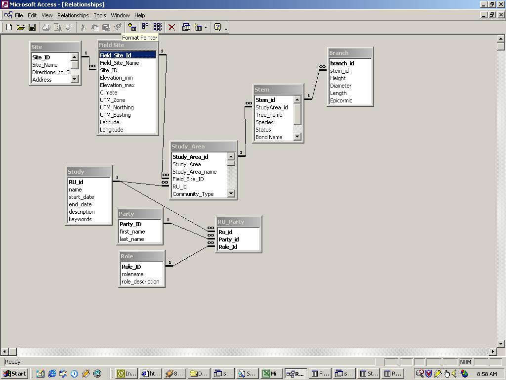 Mysql - What Tool Can I Use To Build A Nicely-Formatted Sql regarding Entity Relationship Diagram Access
