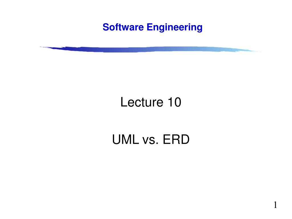 Ppt - Lecture 10 Uml Vs. Erd Powerpoint Presentation, Free with Er Diagram Latex