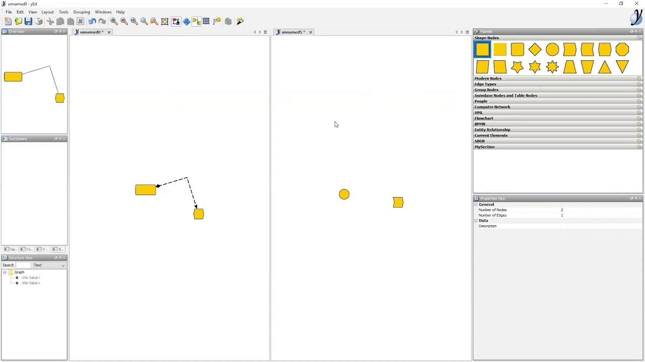 Webinar: Diagramming With Yed with regard to Er Diagram Yed