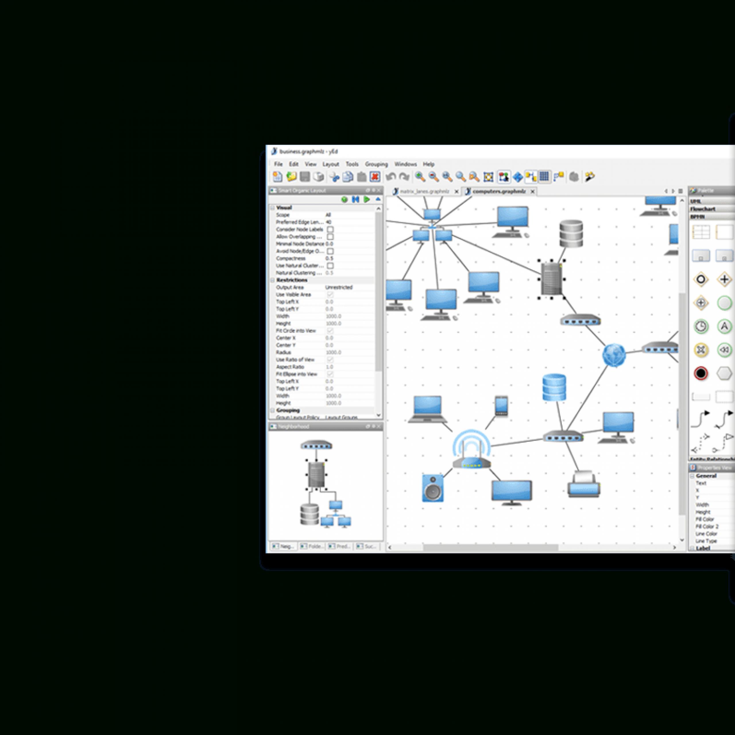 Yed - Graph Editor throughout Er Diagram Yed