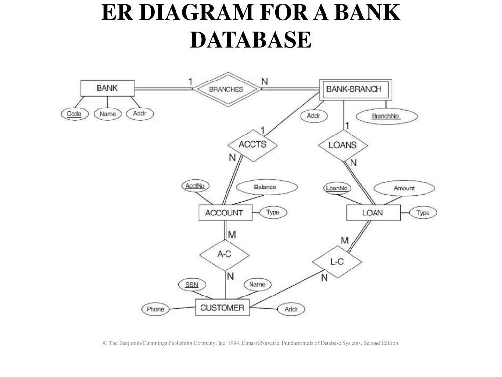 Bank E R Diagram inside Er Diagram Blood Bank Management System