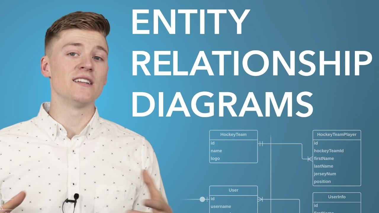 Entity Relationship Diagram (Erd) Tutorial - Part 1 in Er Diagram Youtube