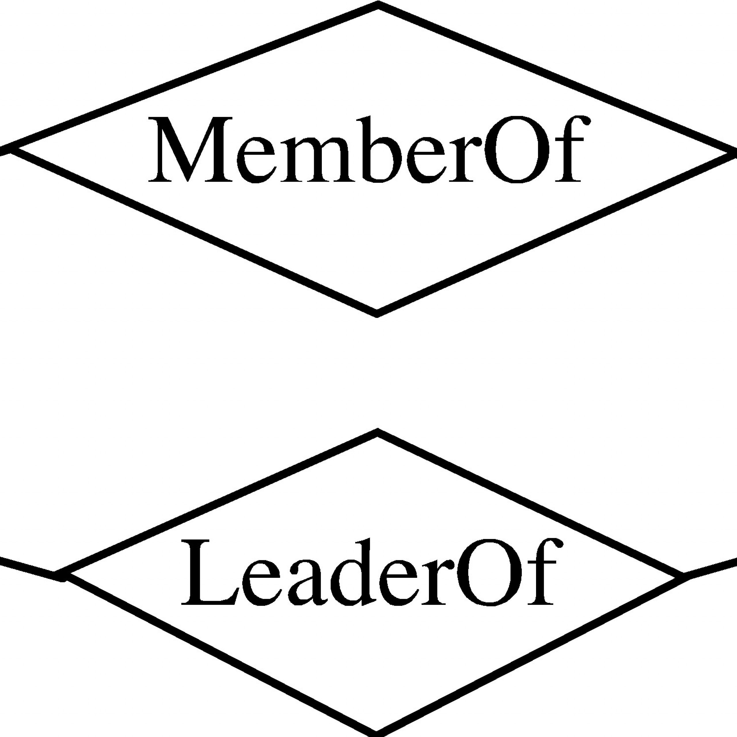 Entity-Relationship Model for Er Diagram Double Line