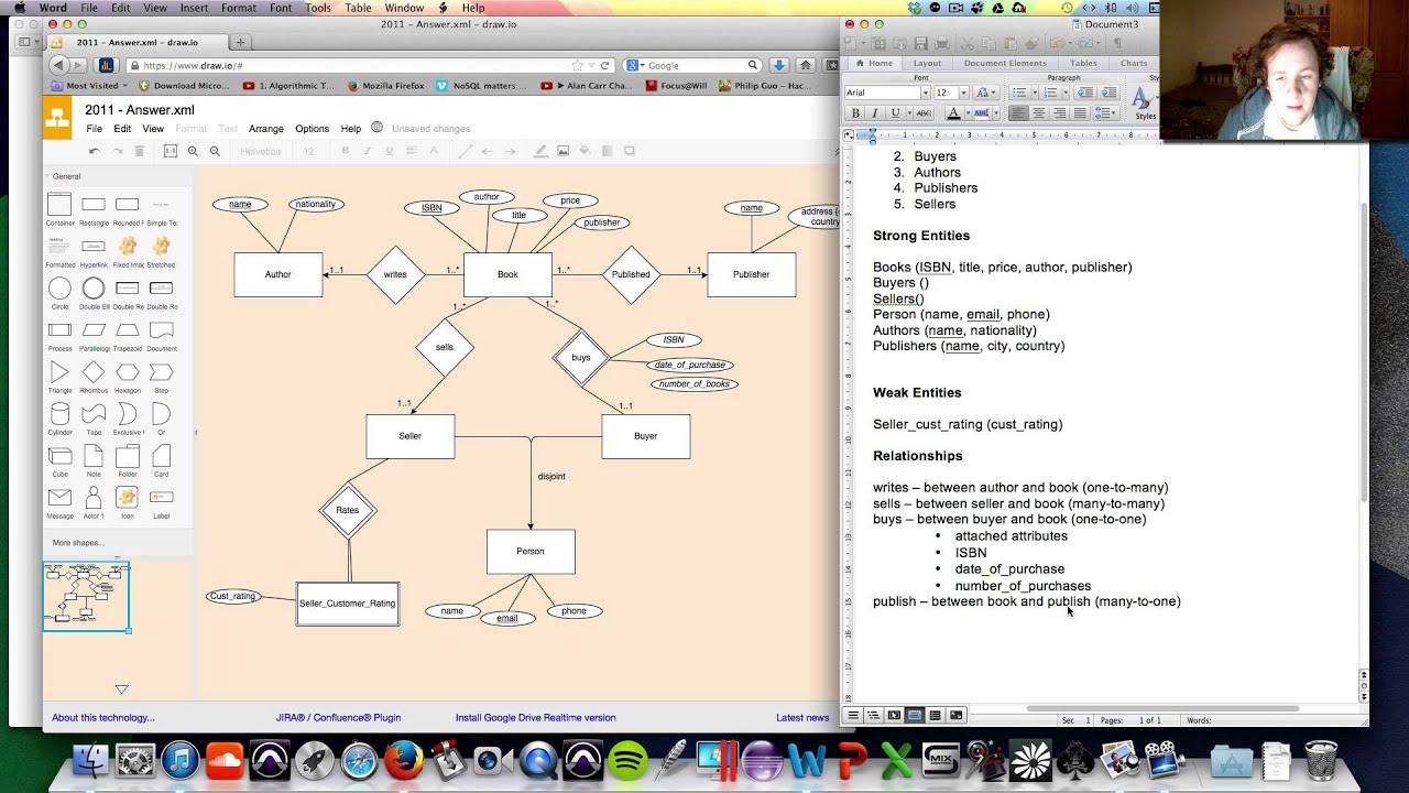 Er Diagram - Explanation Of Exam Question throughout Er Diagram Exam Questions